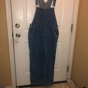 Overalls size large like new